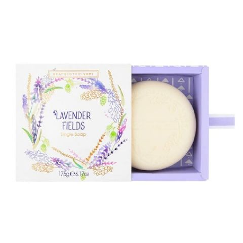 Lavender Fields Scented Soap 175g Heathcote & Ivory